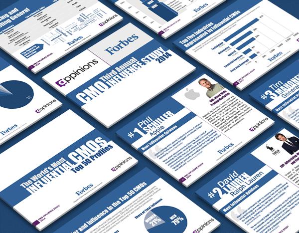 Marketing presentation report design agency