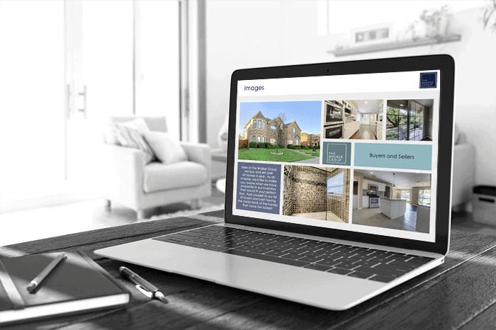Real estate investment presentation designer