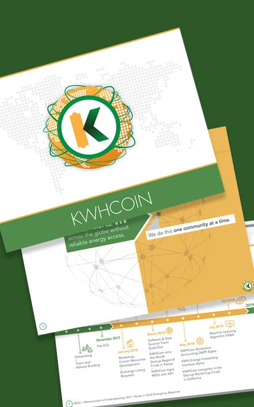 crypto investor presentation slides